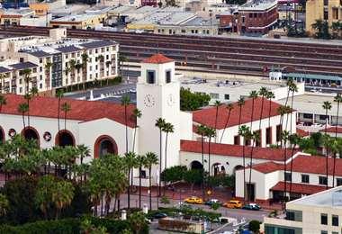Union Station de Los Ángeles, donde se llevará a cabo parte del show de los Óscar