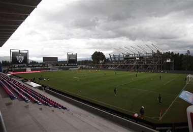 Estadio Banco de Guayaquil que está en la ciudad de Quito. Foto: FEF