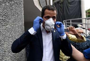 Foto referencial. Guaidó expuso que tiene síntomas leves y que está aislado