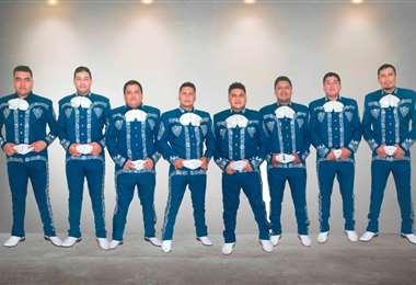 El Mariachi Viral se especializó en la música del mexicano Christian Nodal