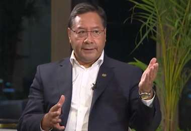 El presidente entrevistado en México I ABI.