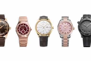 Las nuevas creaciones de la marca de relojes suizos incluyen modelos inéditos