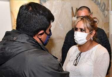 Patricia Flores no es reconocida por la FBF. Foto: APG