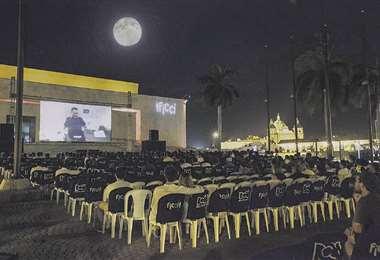 Primera jornada de luna llena del Festival de Cine de Cartagena