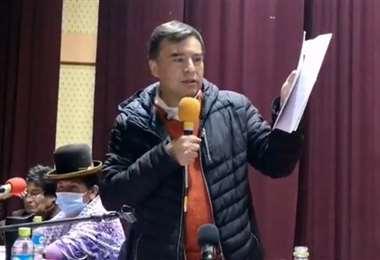 Quintana participa activamente de charlas a jóvenes. Foto: internet