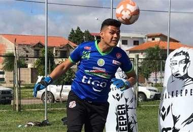 Javier Rojas, arquero de la selección nacional. Foto: internet
