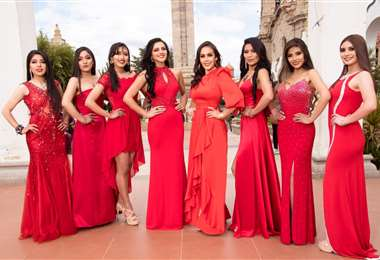 Ocho candidatas compiten por ser Miss y Srta. Potosí