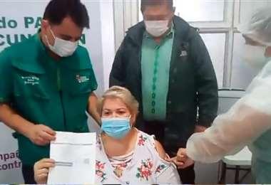 La vacunación empezó a las 09:30 de este miércoles