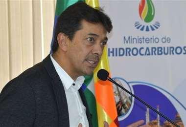 Víctor Hugo Zamora, exministro de Hidrocarburos/Foto: EL DEBER