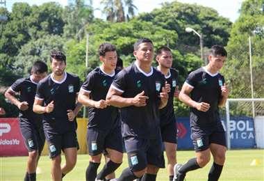 Oriente se alista para jugar su primer partido de local este año. Foto: Prensa Oriente P.