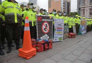 Uniformados presentan el plan de Semana Santa I APG Noticias.