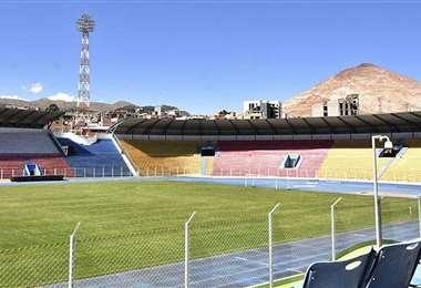 Always Ready puede ser local en el estadio Víctor Agustín Ugarte. Foto: Archivo / APG