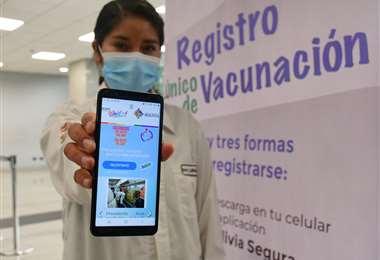 El pre registro de vacunación I APG Noticias.