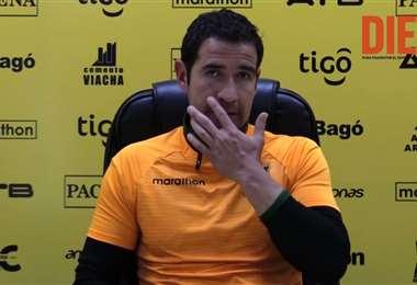 Gustavo Gois de Lira, entrenador de arqueros de The Strongest