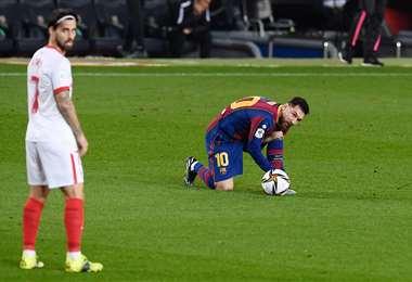 Retener a Messi será el reto del nuevo presidente del Barcelona. Foto: AFP