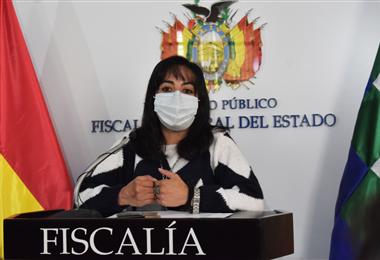 Pilar Díaz Berríos, directora de la Fiscalía especializada en delitos de género.