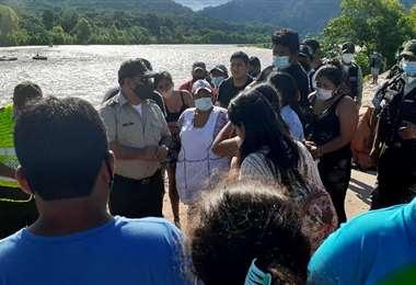 La Policía continúa buscando a los desparecidos