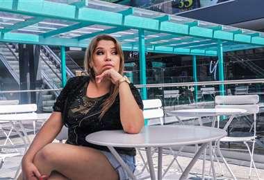 Marian Montero difunde en las redes sociales su disco Caramelo