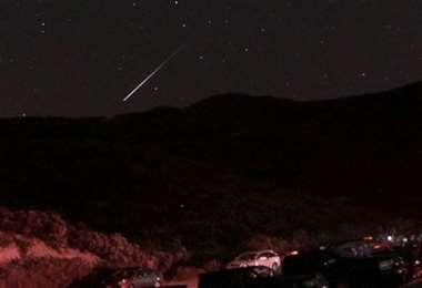 Meteorito captado por una cámara