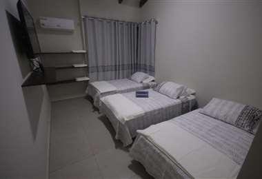 Así son los dormitorios en Oriente Petrolero. Foto: Jorge Gutiérrez