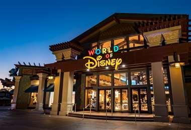 Una de las tiendas de la empresa de entretenimiento Disney