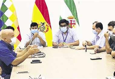 Foto: MINISTERIO DE DESARROLLO RURAL Y TIERRAS