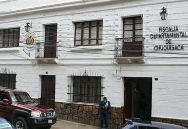 La Fiscalía de Chuquisaca inició las investigaciones