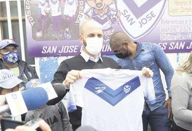 Leitao aceptó hacerse cargo de San José pese a los graves problemas del club