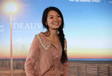 Chloé Zhao en una imagen de archivo/AFP