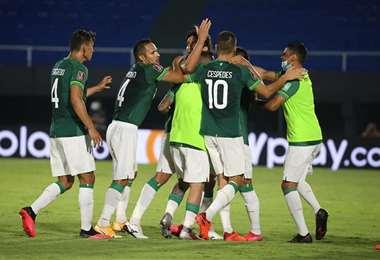 El último partido de la Verde fue frente a Paraguay. Foto: Prensa FBF