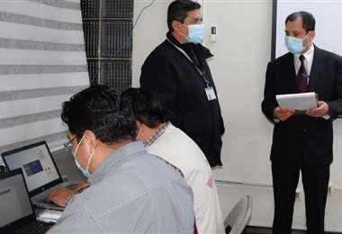 Las autoridades del TSE finalizan los preparativos para las elecciones (Foto: TSE)