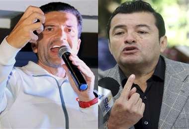 Áñez y Fernández pelean los votos