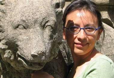 La premiada bióloga boliviana Ximena Vélez. Foto: Archivo