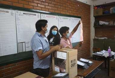 Esta domingo Bolivia elegió alcaldes y gobernadores
