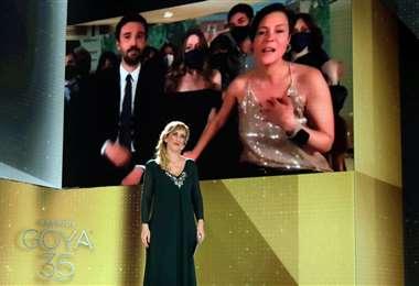 """El momento en el que se anuncia a """"Las niñas"""", como la mejor películas de los Premios Goya"""