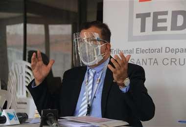 Paniagua se refirió al tema en conferencia de prensa