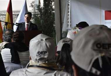 Salvador Romero, presidente del TSE I APG Noticias.
