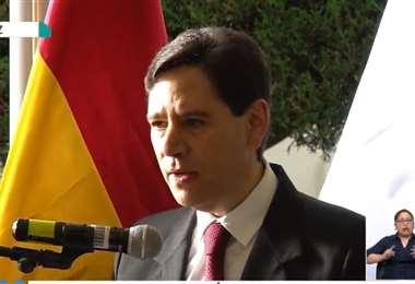 Salvador Romero, presidente del TSE