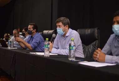 En la reunión participaron empresarios de varios sectores