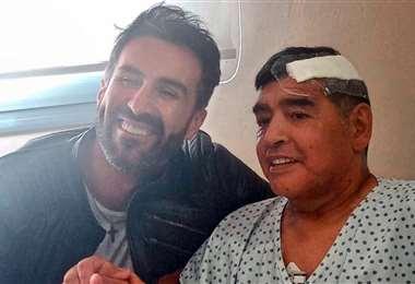Maradona falleció el 25 de noviembre de 2020. Foto: Internet