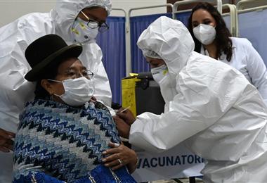 El departamento de La Paz es uno de los más afectados por el Covid-19. Foto. AFP