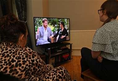 La entrevista fue difundida el domingo en Estados Unidos. Foto AFP