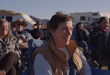 Escena de la película Nomadland