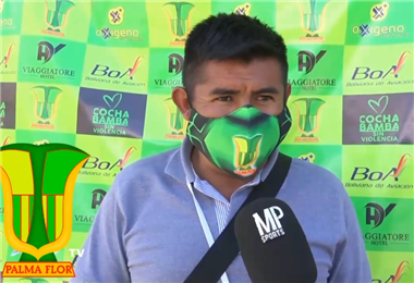 Adelio Cabezas, nuevo presidente del club. Foto: Palmaflor infroma