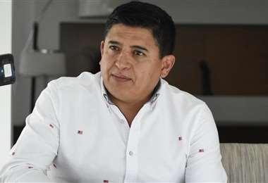 Gróver Vargas, presidente de Wilstermann. Foto: internet