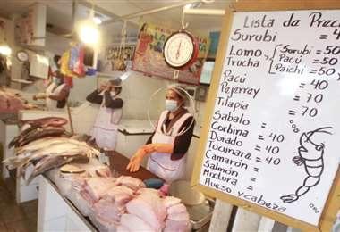 El pescado en estas fechas tienen una gran demanda (Foto: J. Carlos Torrejón)n