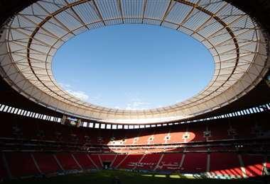 Estadio Mané Garrincha de Brasilia. Foto: internet