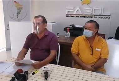 Fabol brindó una conferencia de prensa este jueves. Foto: Captura Video