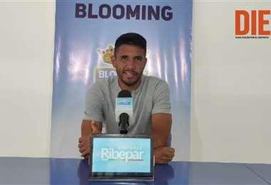 Gervasio Núñez, mediocampista de Blooming