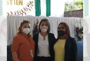 Tres mujeres asumen las direcciones de Educación de la provincia Velasco